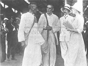 Gandhi satyagraha in Sudafrica.