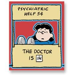 Lucy van Pelt psychiatric help