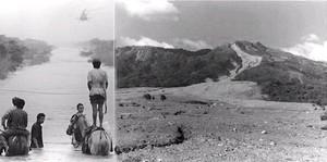 1998 Uragano Mitch: Carretera a León e il crollo del Volcán Casita