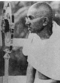 Gandhi comizio
