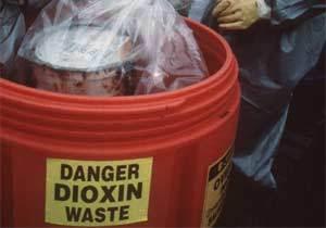 Danger Dioxin Waste