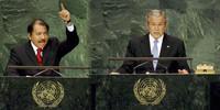 Duro discorso di Ortega durante l'Assemblea ONU