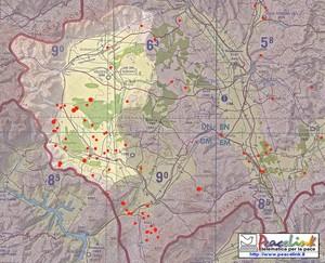 Mappa dettagliata dei bombardamenti ad uranio impoverito in Kossovo