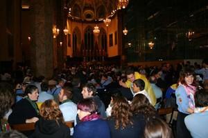 Veglia di preghiera del 6 ottobre 2007 a Perugia, nella Cattedrale di San Lorenzo, in occasione della Marcia Perugia Assisi - Inizia la veglia