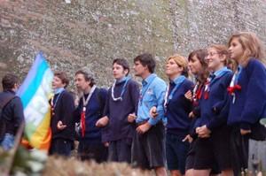 Foto della Marcia Perugia-Assisi 2007 - scout prima della partenza