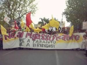 NO al Rigassificatore ne a Brindisi ne a Taranto