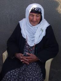 Anziana donna a Ciamciamal