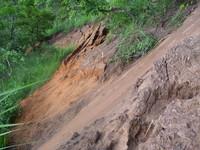 Erosion a Kimbau: une catastrophe