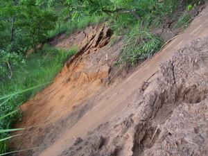 Erosione a Kimbau (R.D. Congo)